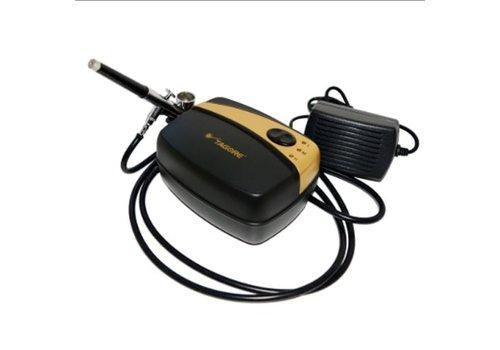 Аэрограф с мини компрессором Tagore TG216GB / TG139B сопло 0,3 мм