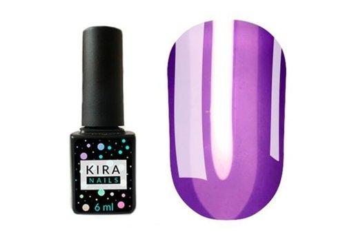 Гель-лак Kira Nails Vitrage №V10 темно-фиолетовый витражная 6 мл