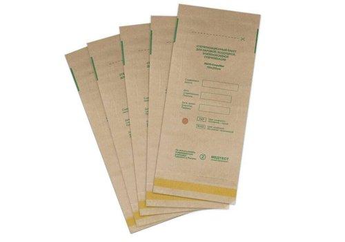 Крафт-пакет для стерелизации Медтест бумажный 100х200 мм 100 шт коричневый