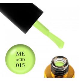 Гель-лак FOX Masha Efrosinina ACID №015 салатовый неон, 7 мл