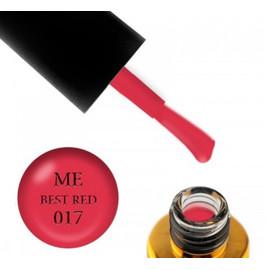 Гель-лак FOX Masha Efrosinina BESR RED №017 красный неон, 7 мл