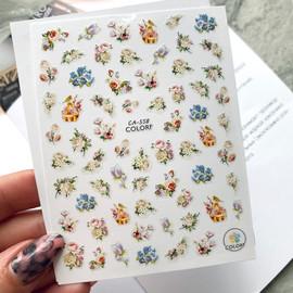 Наклейки для дизайна CA 558 цветы