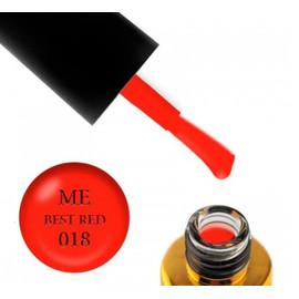 Гель-лак FOX Masha Efrosinina BESR RED №018 апельсиновый неон, 7 мл