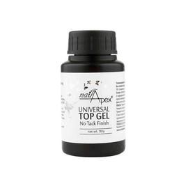 Топ-гель для ногтей универсальный NailApex Universal top gel без лс 30 мл