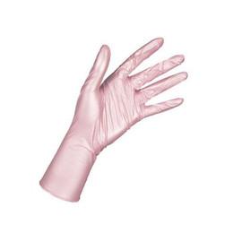 Перчатки нитриловые Prestige Medical розовые перламутровые, M 100 шт