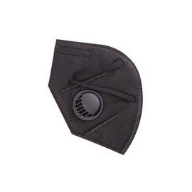 Маска-респиратор с клапаном для лица 1 шт черная