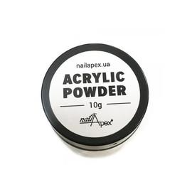 Акриловая пудра для дизайна и укрепления ногтей NailApex Acrylic Powder 10 г