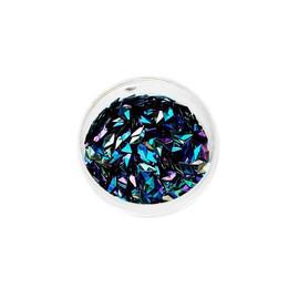 3D чешуи дракона Komilfo № 031 Diamond Black AB 1 г