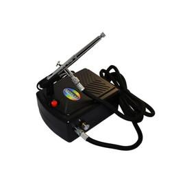 Аэрограф с мини компрессором Fengda AS-200B / BD139E сопло 0,2 мм
