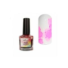 Акварельный флюид NailApex 4, розовый 5 мл