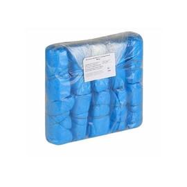 Бахилы Lillyshop из полиэтилена 40х15 см голубые 100 шт