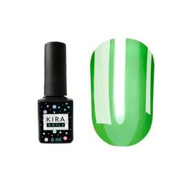 Гель-лак Kira Nails Vitrage №V04 зеленый витражная 6 мл