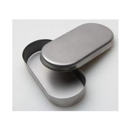 Контейнер для хранения или дезинфекции фрез серебристый