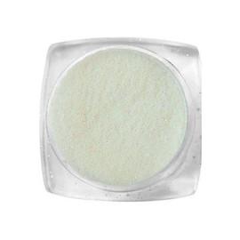 Komilfo блесточки 031 размер 0,1 мм, белые, оранжево-зеленый перелив, 2,5 г