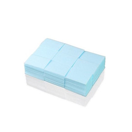 Безворсовые салфетки голубые
