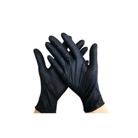 Перчатки нитриловые Prestige Medical черные L 100 шт