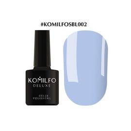 Гель-лак Komilfo Deluxe Series №SBL002 светло-васильковый эмаль 8 мл