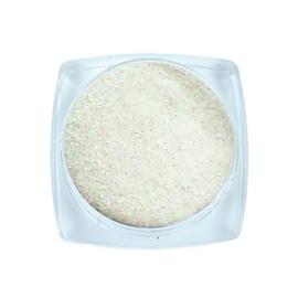 Komilfo блесточки 026 размер 0,1 мм, белые зеленый перелив, 2,5 г