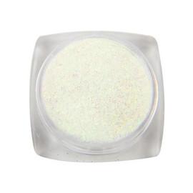 Komilfo блестки 021 размер 0,1 мм, белые разноцветные, 2,5 г