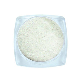 Komilfo блесточки 032 размер 0,1 мм, белые, Фиоля перелив, 2,5 г
