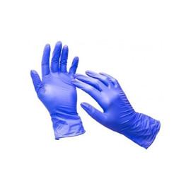 Перчатки нитриловые  Nitrylex Basic размер L темно-синие Dark blue 100 шт