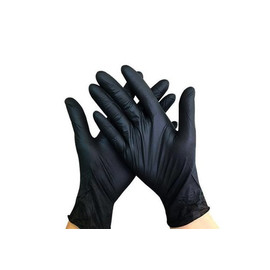 Перчатки нитриловые Nitrylex размер S черные Black 100 шт
