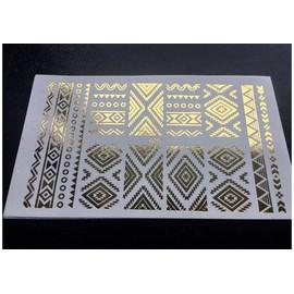 Фольгированный слайдер -020 золото