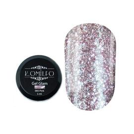 Гель Komilfo Glam Gel Pink № 005, 5 мл
