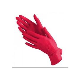 Перчатки нитриловые Prestige Medical красные M, 100 шт