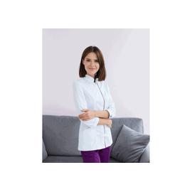 Костюм для мастера Сакура бело-фиолетовый р 42-54
