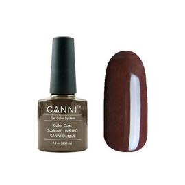 Гель лак Canni №152 коричневый опал 7.3 мл