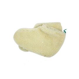 Носки для парафинотерапии из искусственного меха, белые
