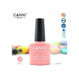 Гель-лак Canni №011 светло-розовый 7.3 мл