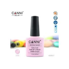 Гель-лак Canni №068 лилово-бежевый 7.3 мл