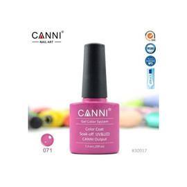 Гель-лак Canni №071 мадженты 7.3 мл