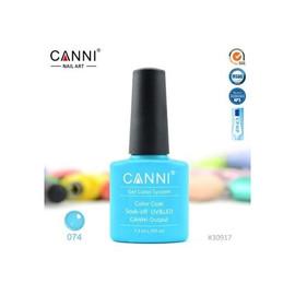 Гель-лак Canni №074 небесно-синий 7.3 мл