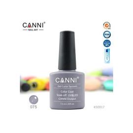 Гель-лак Canni №075 ламантин 7.3 мл
