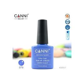 Гель-лак Canni №079 голубой 7.3 мл