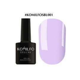 Гель-лак Komilfo Deluxe Series №SBL001 серо-лиловый эмаль 8 мл