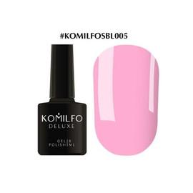 Гель-лак Komilfo Deluxe Series №SBL005 нежно-розовый эмаль 8 мл