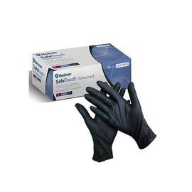 Перчатки медицинские Medicom Safe Touch нитриловые размер S черные 100 шт