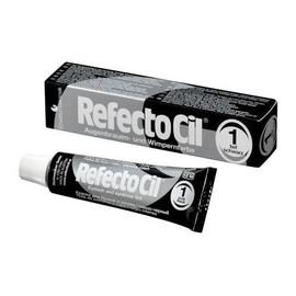 RefectoCil №1 Pure Black - краска для бровей и ресниц (глубокая черная), 15 мл