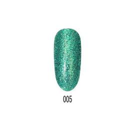 Гель-лак Starlet Platinum Glitter shine №005, 10 мл