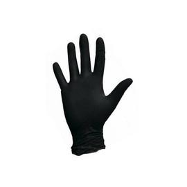 Перчатки нитриловые Nitrylex размер L черные Black 100 шт