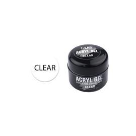 Акрил-гель NUB Acryl Gel Clear 5 г мл прозрачный