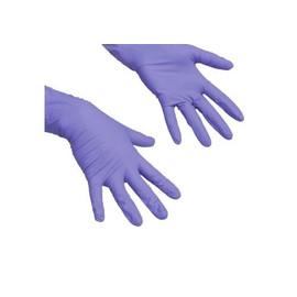 Перчатки нитриловые фиолетовые UNEX размер XS 100 шт