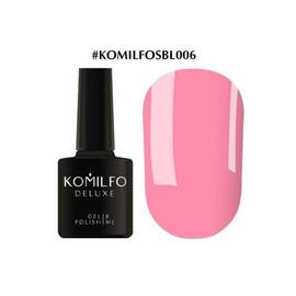 Гель-лак Komilfo Deluxe Series №SBL006 светло-коралловый эмаль 8