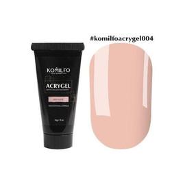 Акрил гель Acryl Gel №004 Komilfo Nude нюд 30 г