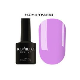 Гель-лак Komilfo Deluxe Series №SBL004 светло-сиреневый эмаль 8 мл