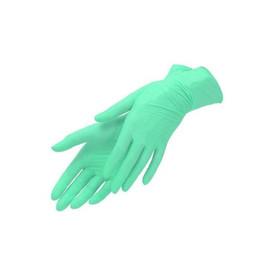 Перчатки нитриловые мятные UNEX размер XS 100 шт